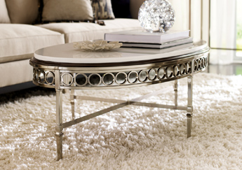 A901-511 Fusionner Collection - Marble Round Table