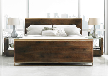 ATS-002 / Modern Artisan Dark Bedroom Set (K, Q)