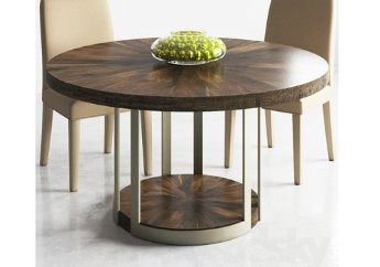 ATS-ROUND-002 / Modern Artisans Round Dining Table